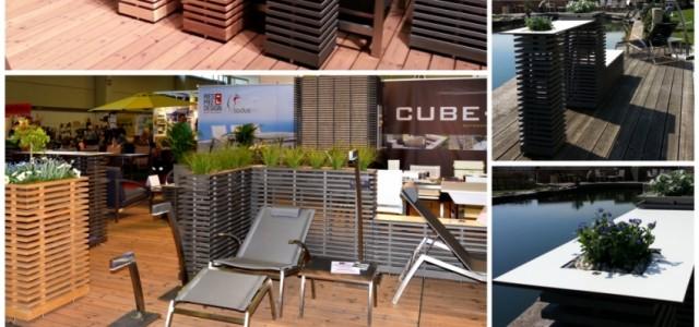 Mehr als Blumentröge – Cube Outdoormobiliar – edle Designlösungen für Ihren Außenbereich.
