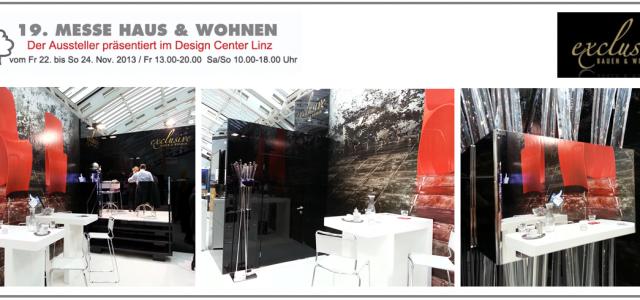 Ries ProDesign mit exclusive BAUEN & WOHNEN auf der Messe in Linz