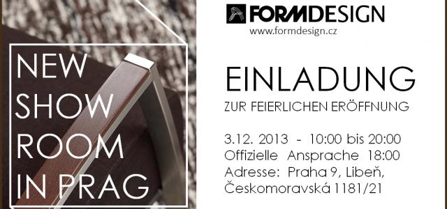 FORMDESIGN – New Showroom in Prag