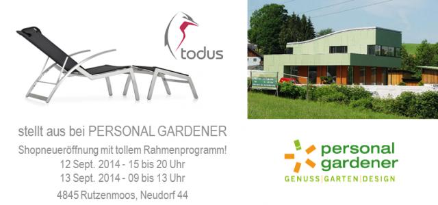 Natur Genuss im Designgarten
