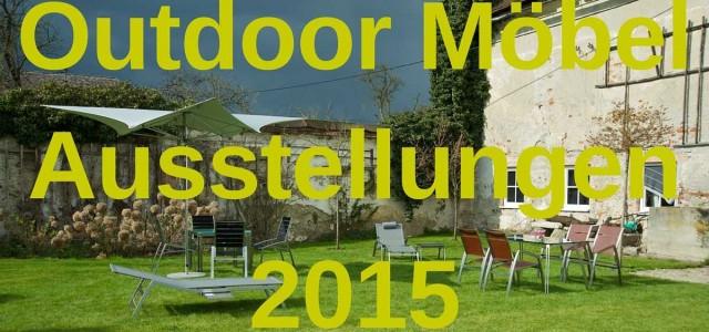 Outdoor Möbel Ausstellung