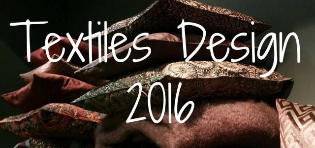 Textiles Design 2016