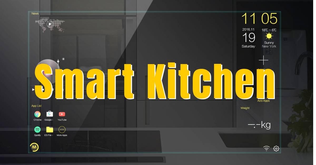 Neue Küche auf der imm