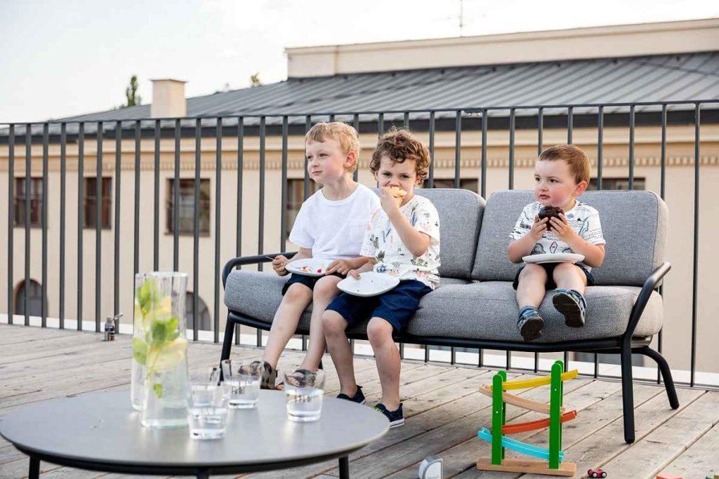 Garten Zweiersofa - Ries ProDesign – DI Jana Ries - Innenarchitektur Linz