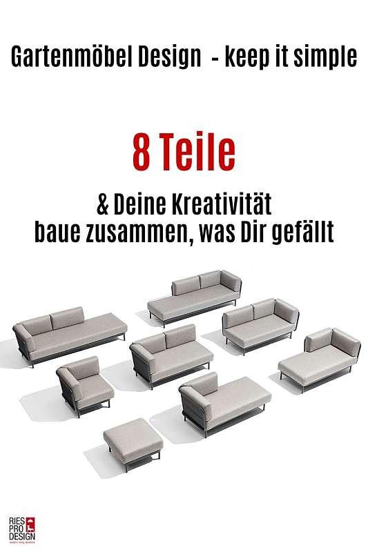 Gartenmöbel Design - Ries ProDesign – DI Jana Ries - Innenarchitektur Linz