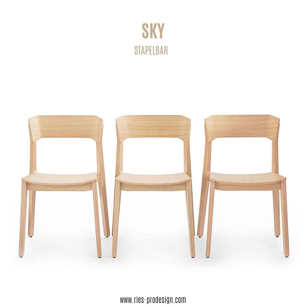 Holzstühle SKY - Ries ProDesign – DI Jana Ries - Innenarchitektur Linz