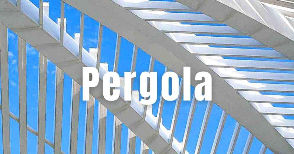 Pergola - Ries ProDesign – DI Jana Ries - Innenarchitektur Linz